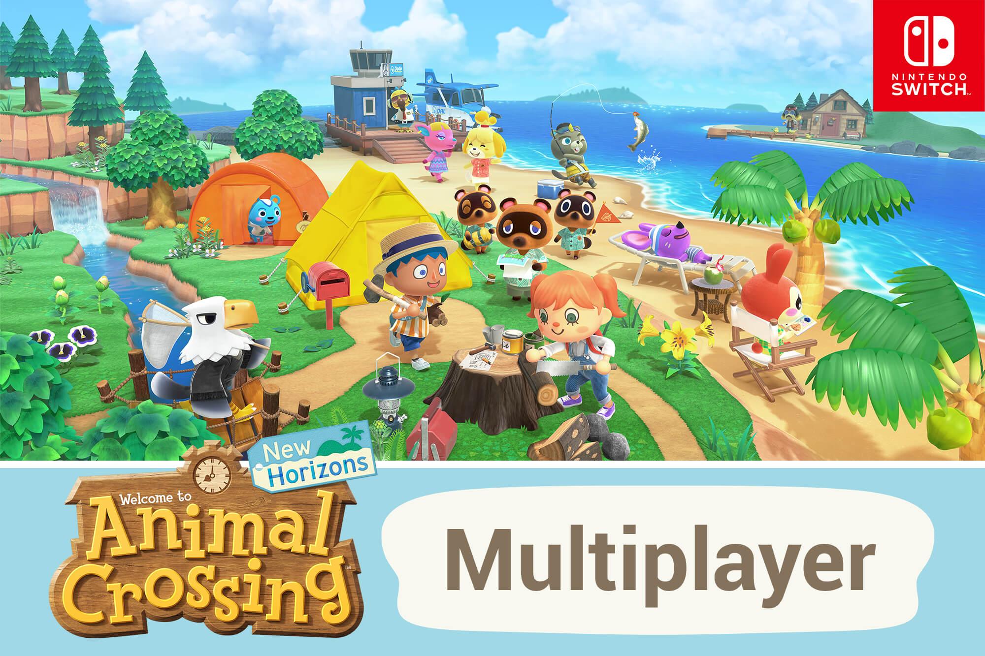 Animal Crossing: New Horizons - Multiplayer