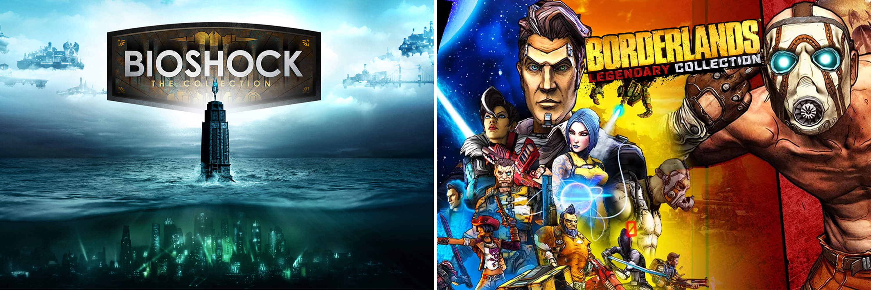 2K   BioShock: The Collection and Borderlands Legendary Collection