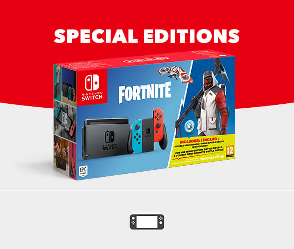 <b>Special Edition Consoles</b>