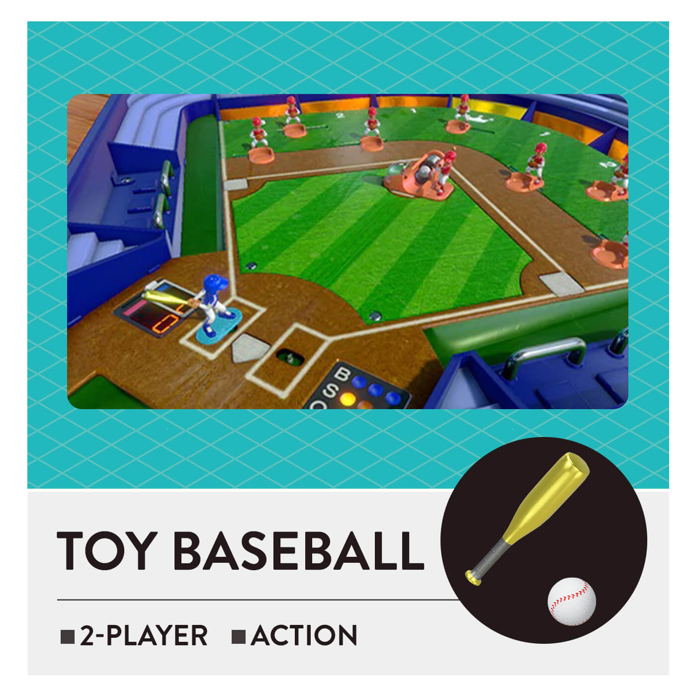 51 Worldwide Games - Toy Baseball