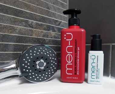 men-ü hair care products