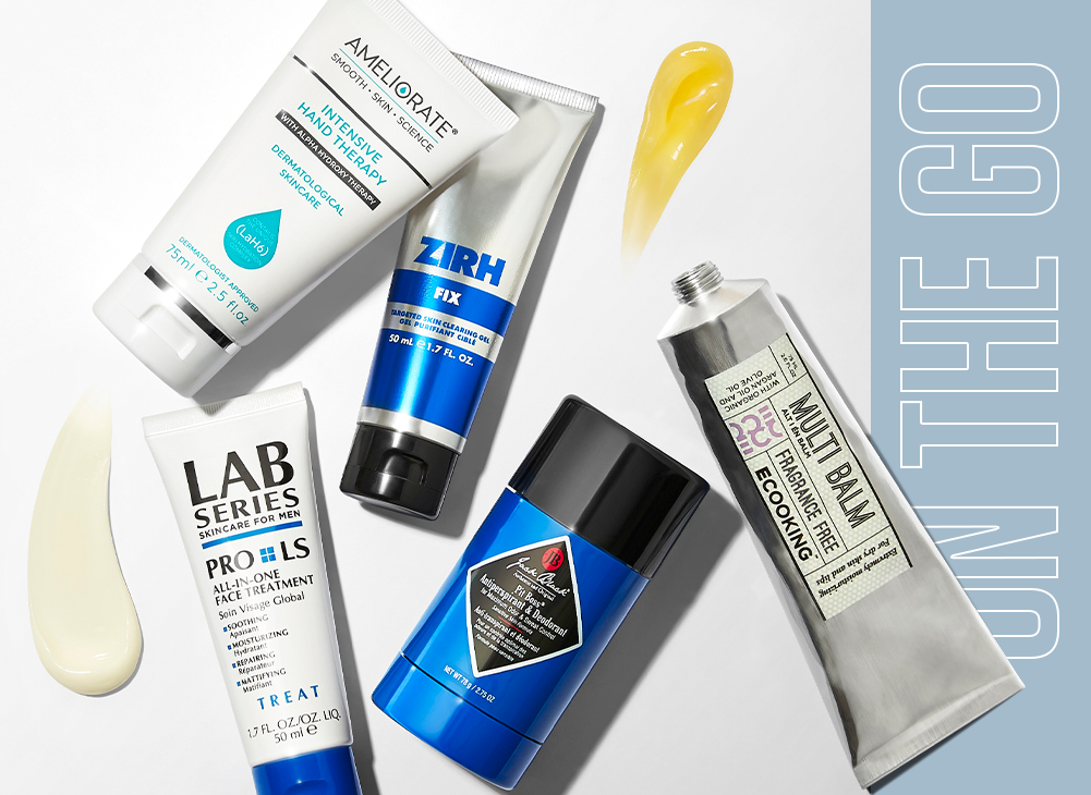 The on-the-go Grooming Guide