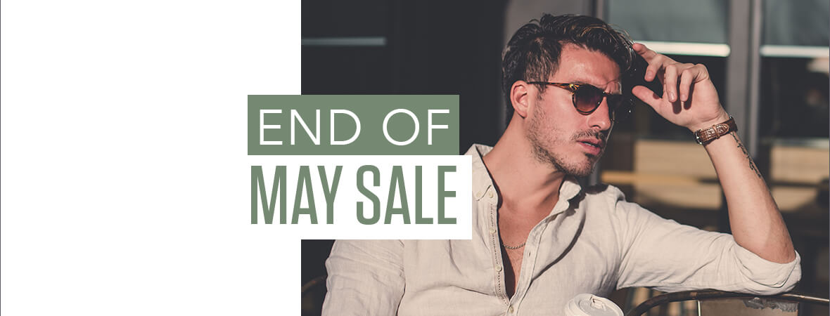 end of may sale